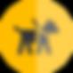 Pet taxi για μεταφορά ασυνόδευτου κατοικίδιου σκύλου