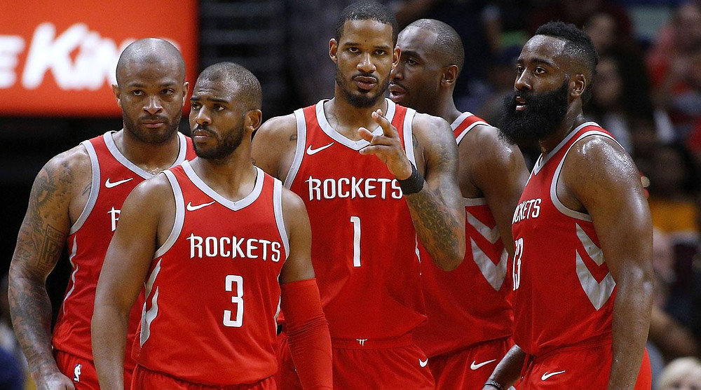 Houston Rockets Small Ball Lineup