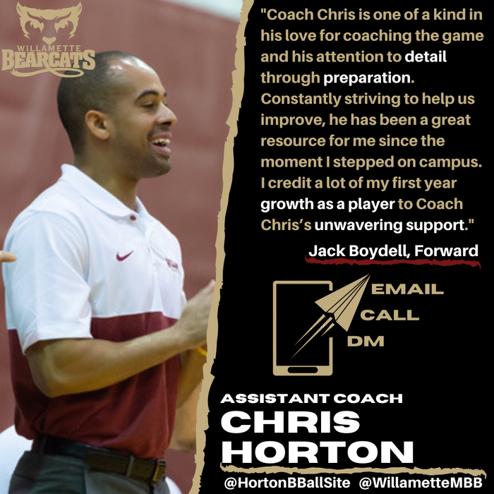 Article Feature: Horton Learns A Lot About Basketball Through Coaching & Managing
