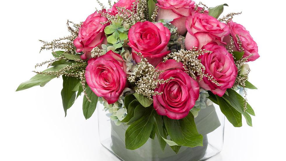 Contemporary Rose Vase