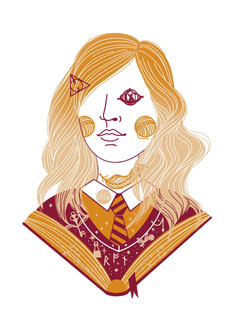 Witch Girl Hermione