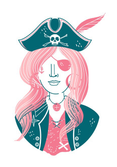Pirate Girl Bonny