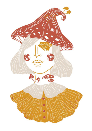 Mushroom Girl Beatrix