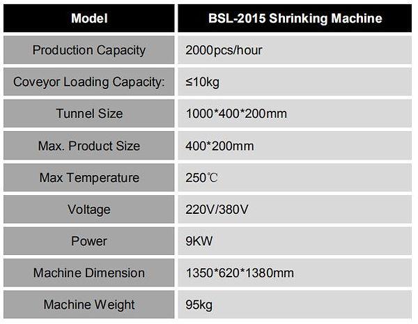 BSL-2015 Shrinking Machine.JPG