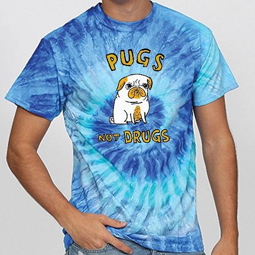 Tie Dye - Blue - Pugs