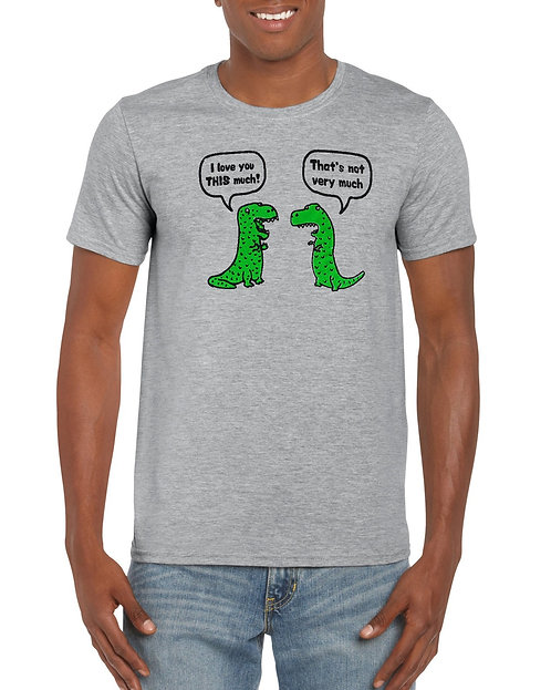 Mens T-Shirt - I love you