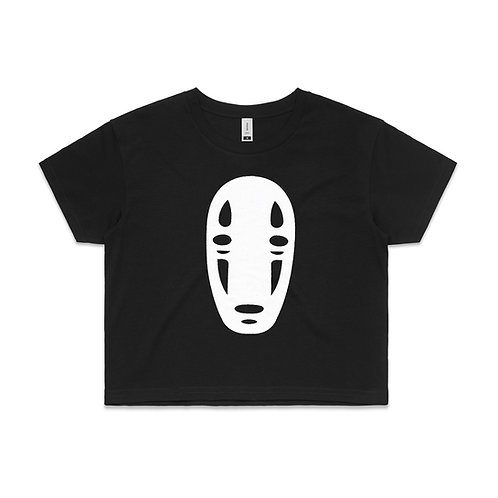 Womens Crop Top - No face