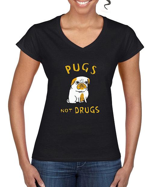 Womens T-Shirt - Pugs