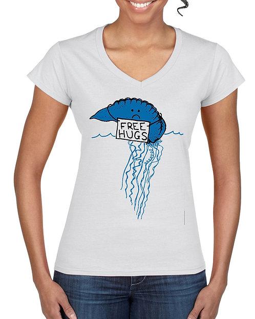 Womens T-Shirt - Free Hugs