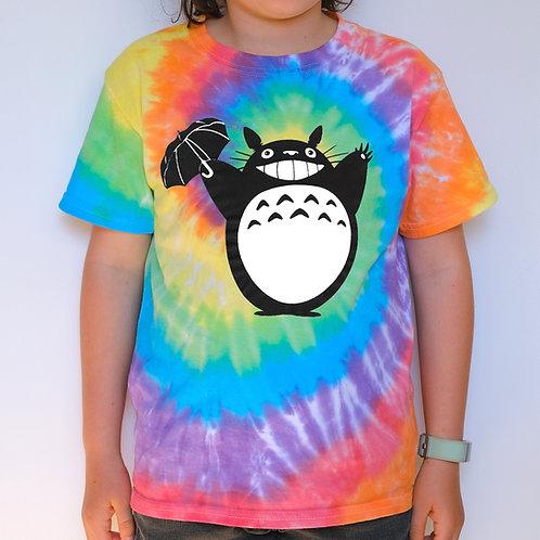 Kids Tie Dye - Totoro
