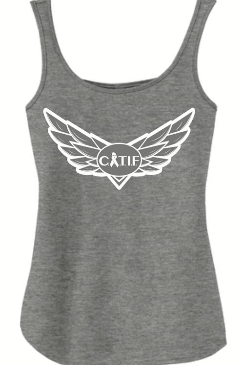 """CATIF X Lamplighter Inn """"Wings"""" Logo Tank"""