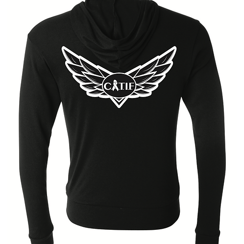 CATIF Wings Zip Up Hoodie