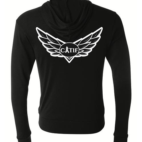 CATIF Wings Zip Up Hoodie