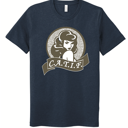 CATIF Cool Chick Logo T-Shirt