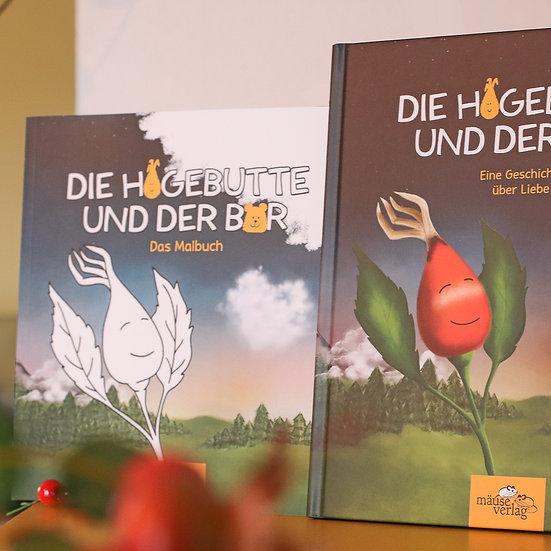 """Erstlese- und Malbuch """"Die Hagebutte und der Bär"""""""