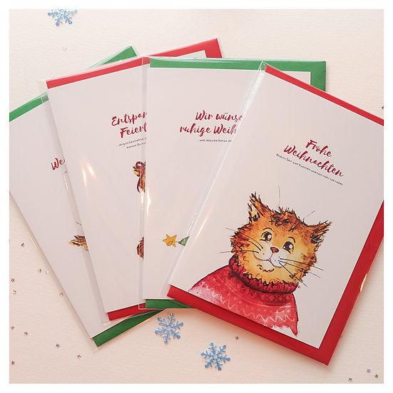 Vladimir's Weihnachtsgrußkarten Set