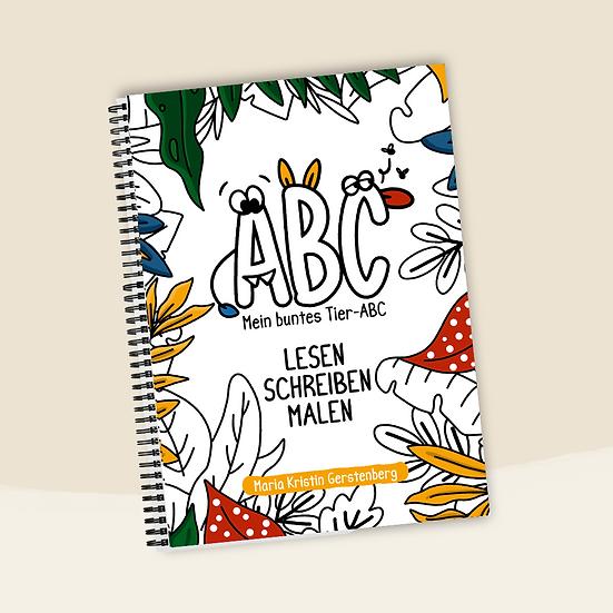 Tier ABC Malbuch