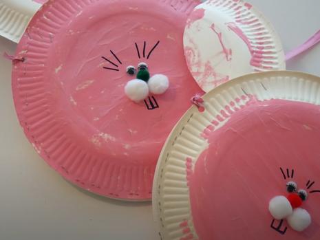 Süße Hasentaschen für Ostern zum Basteln für Kinder