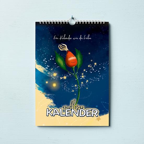 """Endloser Kalender """"Die Hagebutte und der Bär"""""""