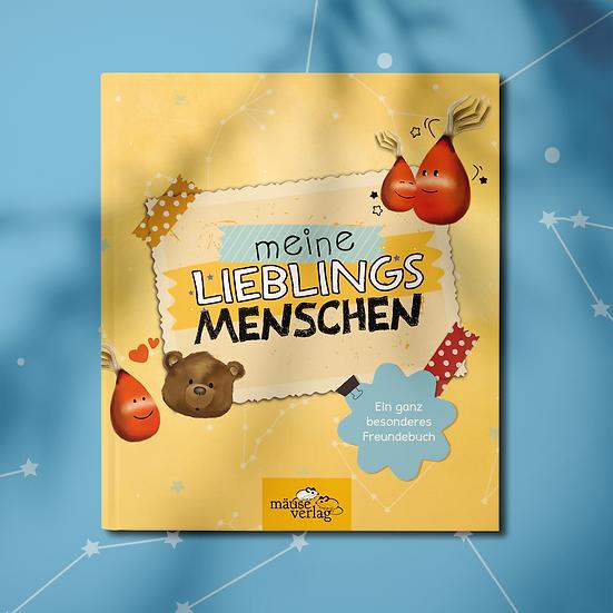 """Freundebuch """"Lieblingsmenschen"""""""