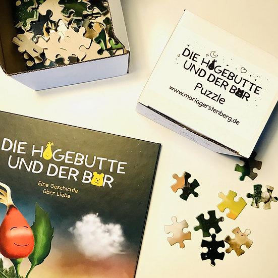 """Puzzle """"Die Hagebutte und der Bär"""""""