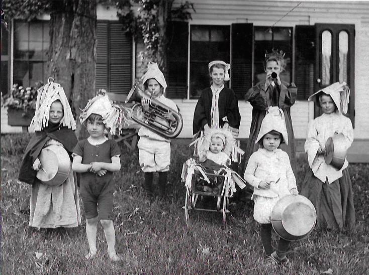 Children's Band. West Dummerston.