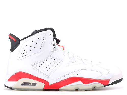 "Air Jordan 6 Retro ""White/Infrared 2014"" -Size 9.5"