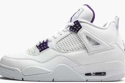 "Jordan 4 ""Metallic Pack - Purple"" - Size 9.5"
