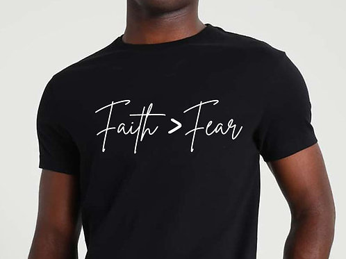 My Faith Is Greater Than My Fear