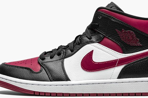 "Jordan 1 Mid ""Noble Red"" - Size 9.5"