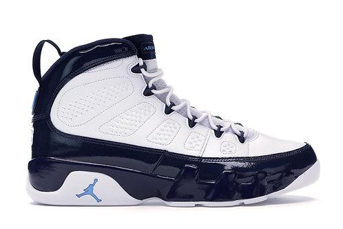 """Air Jordan 9 Retro """"UNC"""" - Size 9.5"""