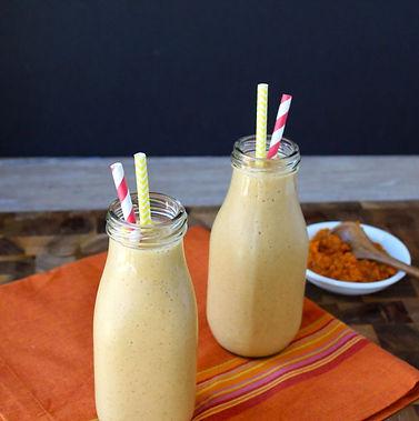 mango carrot pumpkin smoothie