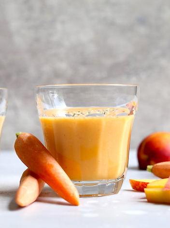 sweet gingr orange smoothie