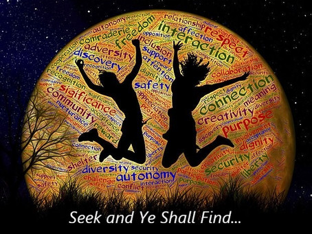 Seek and You will Find...