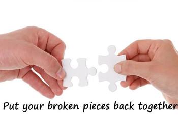 Put your Broken Pieces back Together