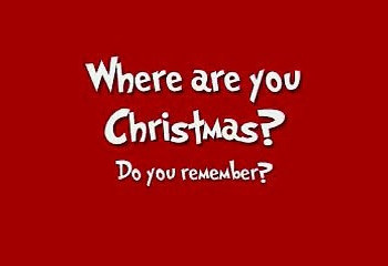 Where are you Christmas? The Season of Giving, Part III