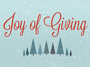 It's the Season of Giving, Part II