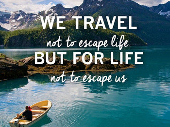 Taking a vacation from life...