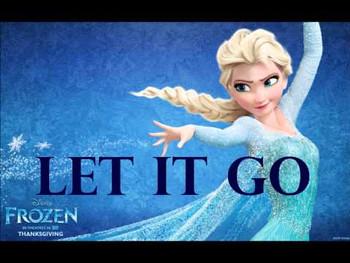 Let it go, Let it go ...