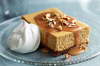 Pumpkin Caramel & Pecan Cheesecake pictu