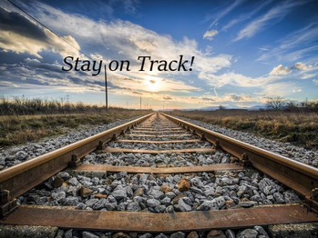Are you going off track?