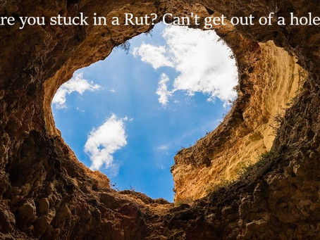 Are you in a Rut?