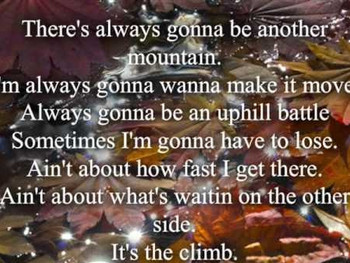 Taking the Climb