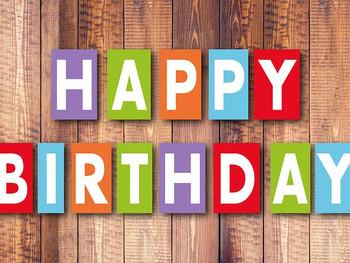 Birthdays are a Reason to Celebrate!
