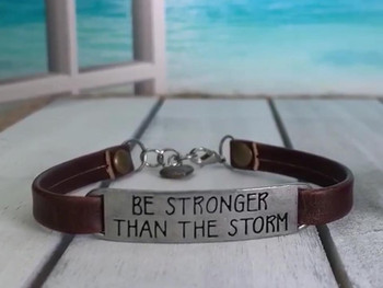 Be Stronger Than The Storm!