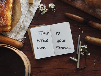 It's Time To Write Your Own Story!