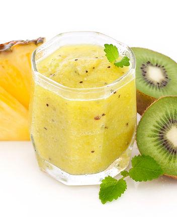 kiwi pineapple smoothie