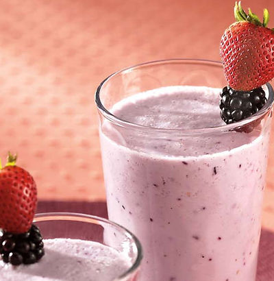 very berry blend smoothie