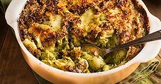 broccoli and Pasta Casserole Dish pictur