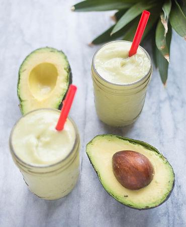 Avocado-Pineapple- apricot Smoothie-corr